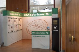 Messestand kanada-haus