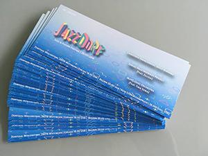 Digitaldruck - Tickets JazzDorf
